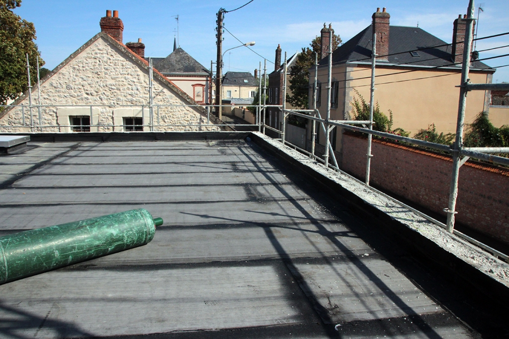 Les toits terrasse étanchéifiés