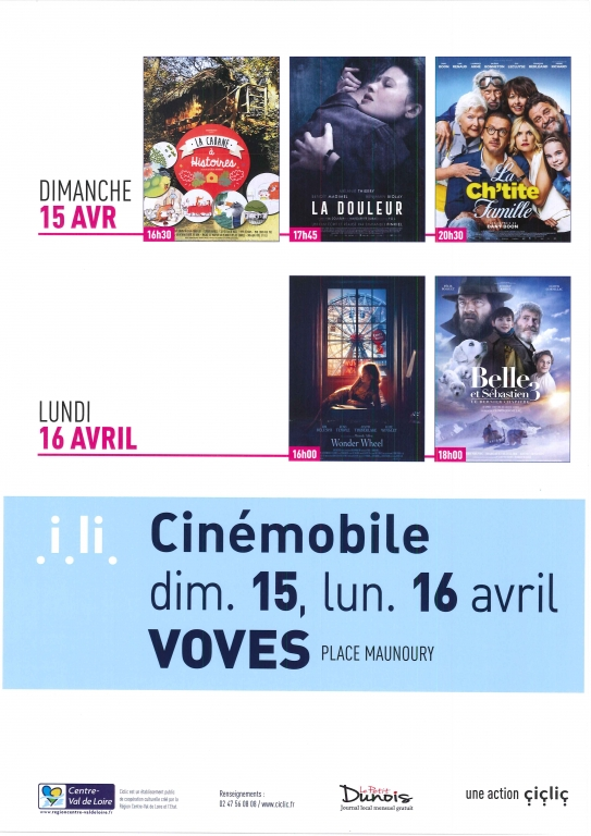Cinémobile avril 2018