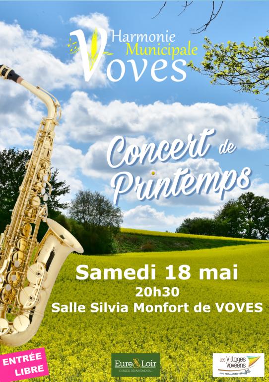 Concert de Printemps par l'Harmonie Municipale