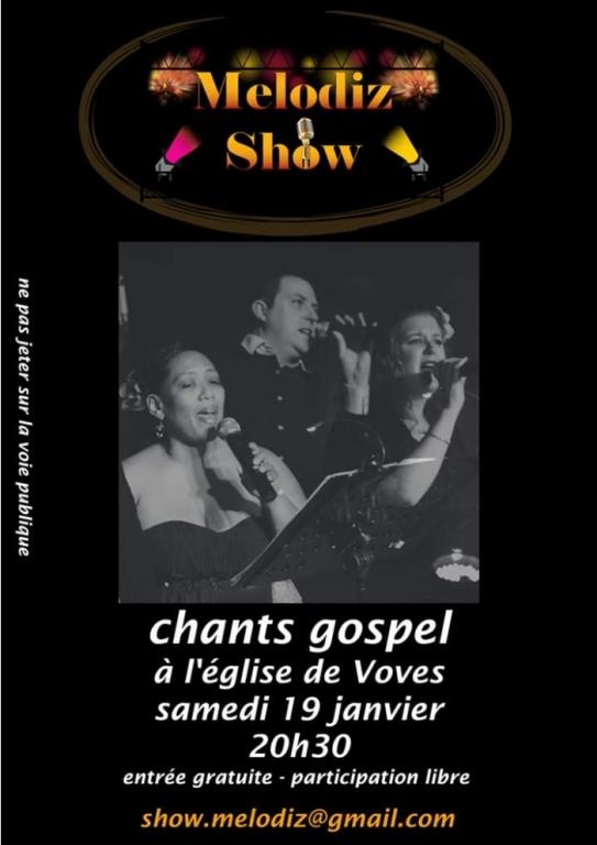 Concert chants gospel