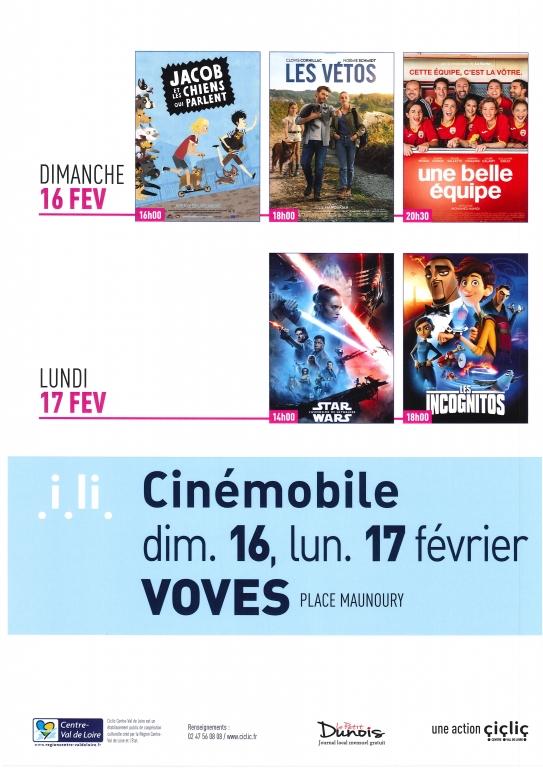 Cinémobile février