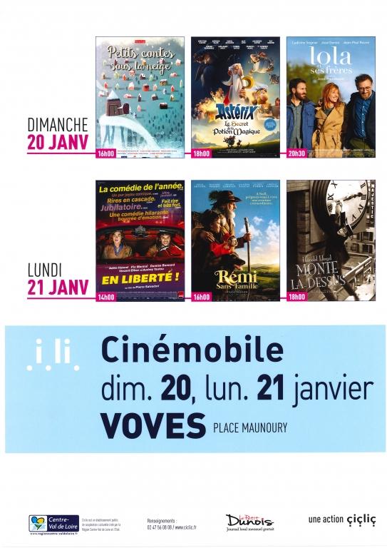 Cinémobile janvier 2019