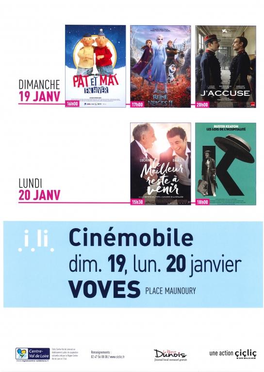 CINEMOBILE Janvier 2019