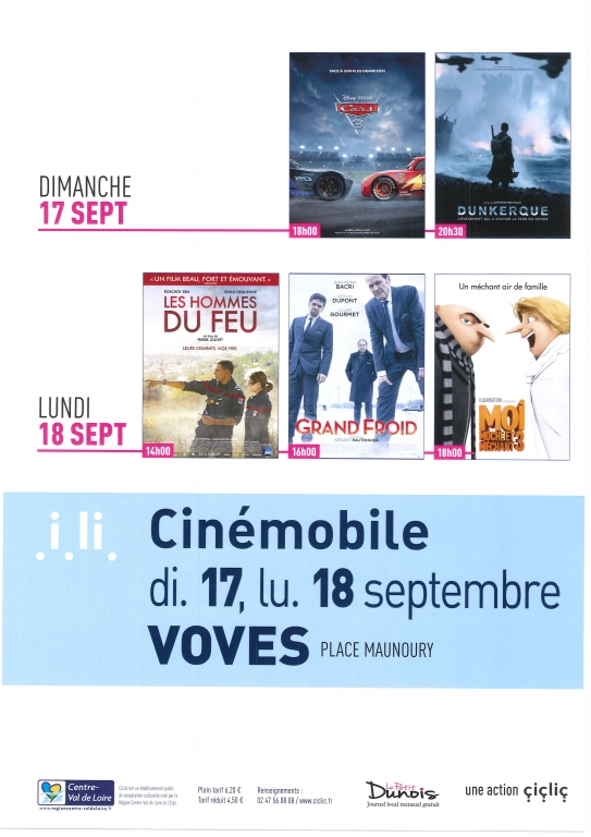 Cinémobile septembre