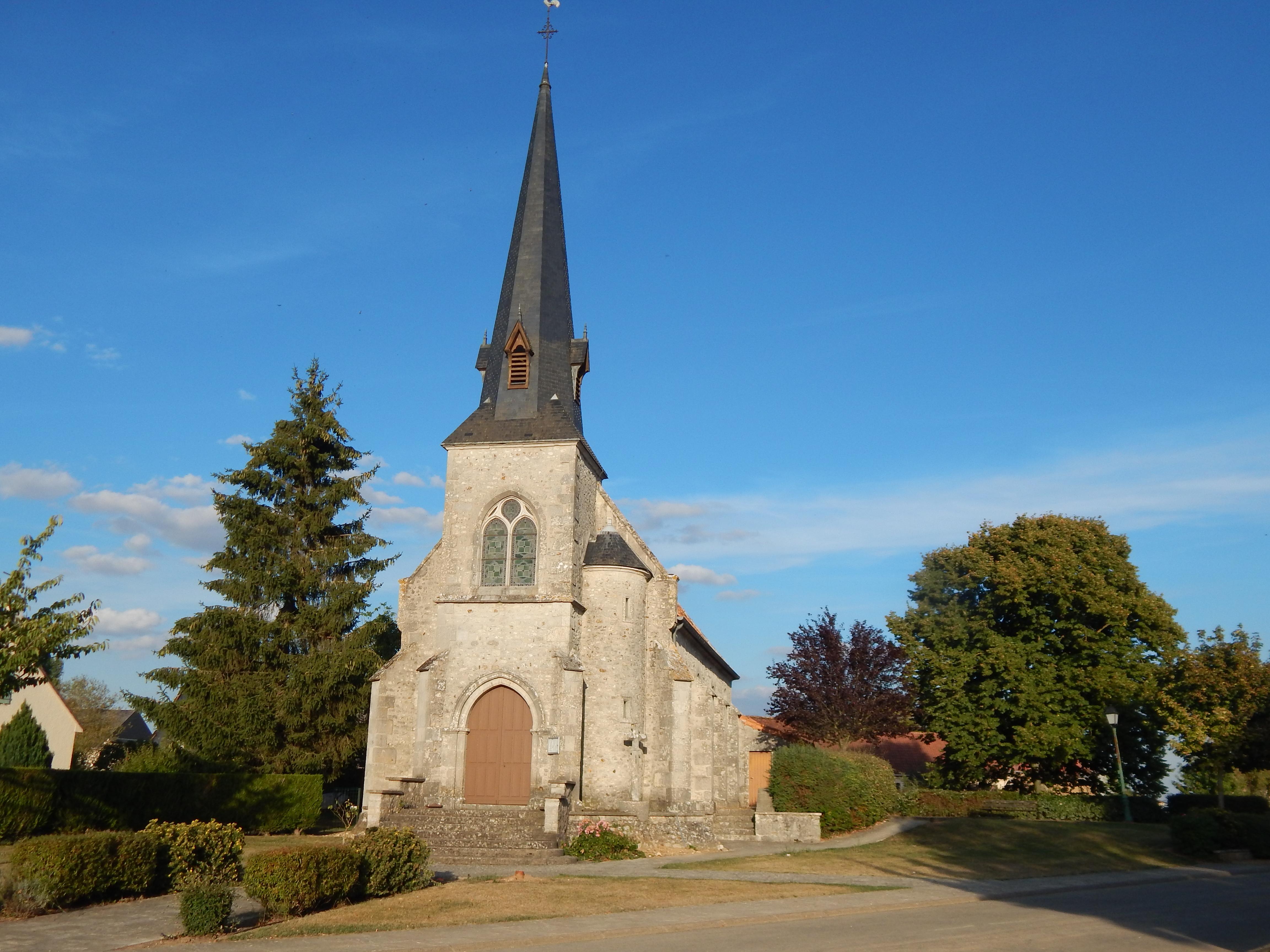 Eglise de Villeneuve-St-Nicolas