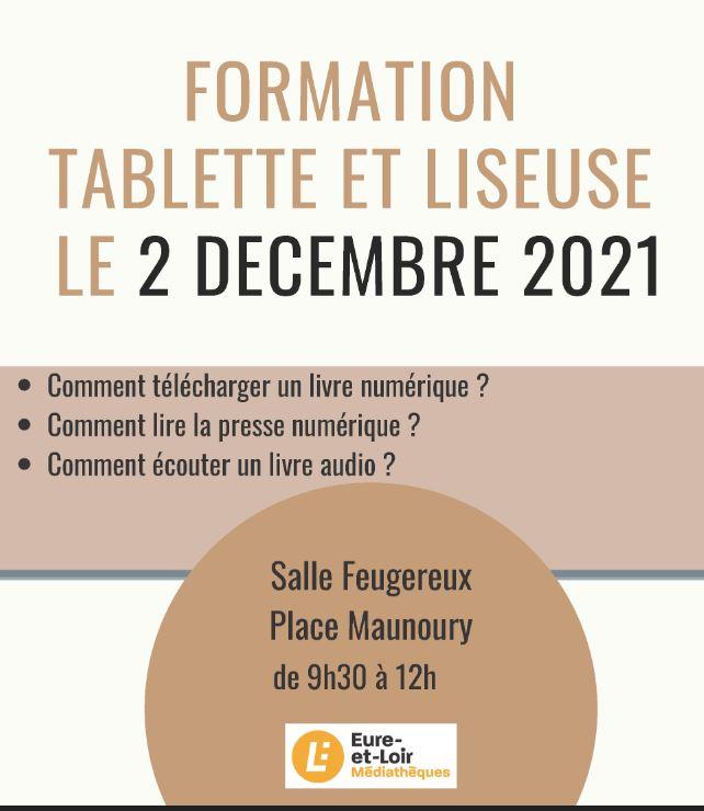 Formation tablette et liseuse
