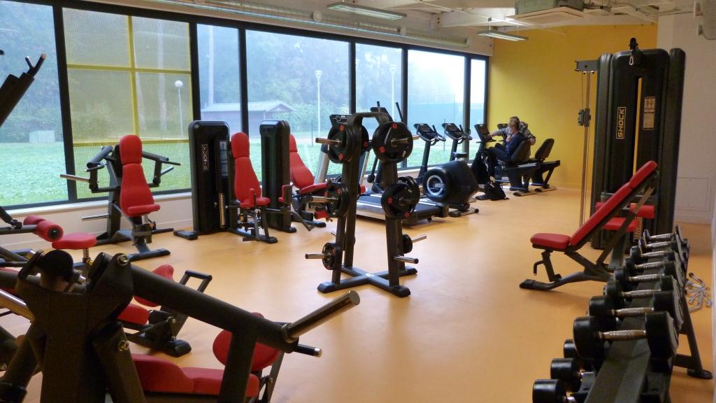 Salle de sport de l'Espace Fitness