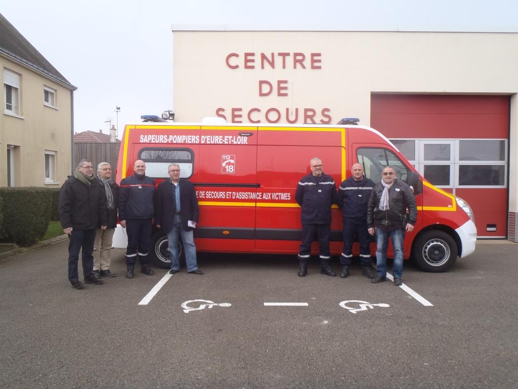 Centre de Secours : une nouvelle ambulance