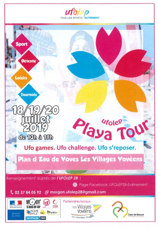 Playa Tour Ufolep 2019