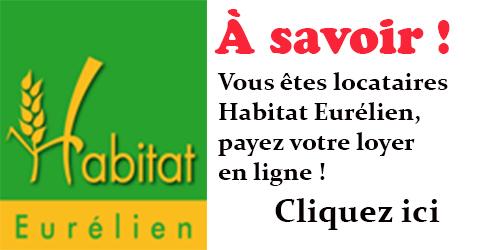 Lien paiement en ligne Habitat Eurélien