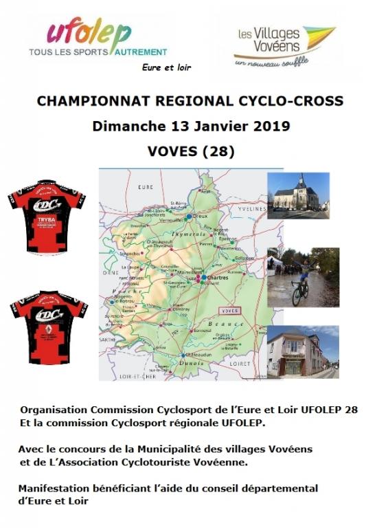 CHAMPIONNAT REGIONAL CYCLO - CROSS