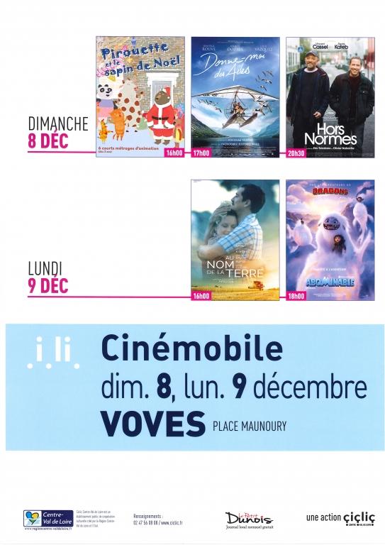 Cinémobile Décembre