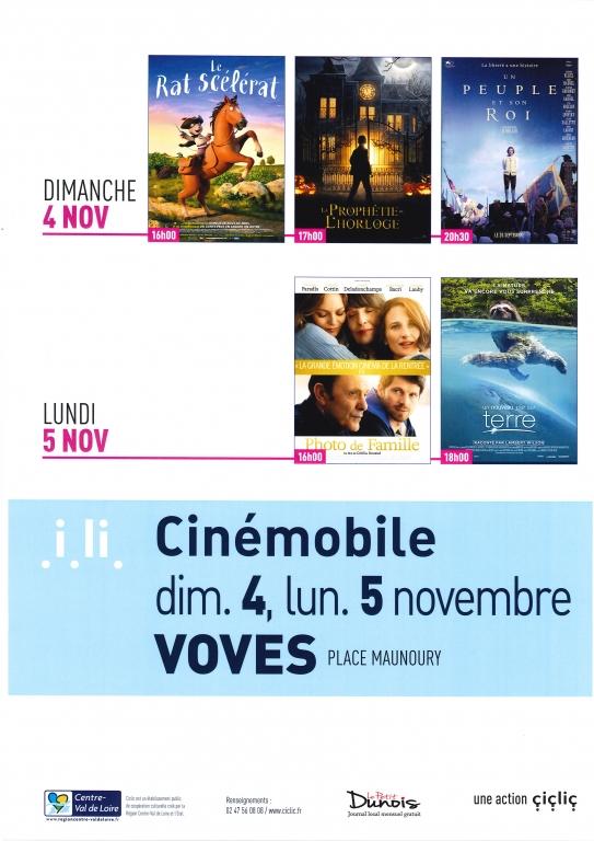 Cinémobile novembre 2018