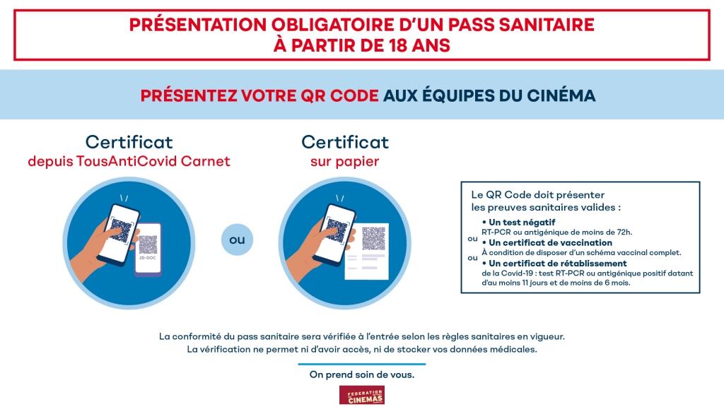 Cinémobile pass sanitaire